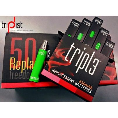 1 Case of 50 650mAh eGo Batteries