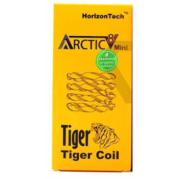 HORIZON | ARCTIC V8 TIGER COILS - PACK OF 5 (MSRP $21.00)