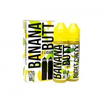 Daddy Vape Co. - Banana Butt Right Cheek - 120ml