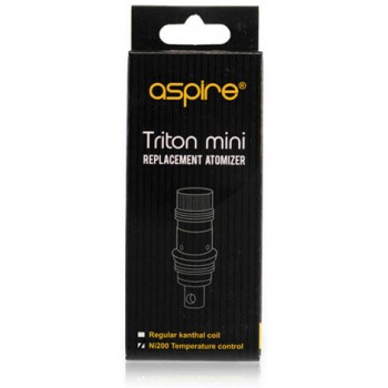 ASPIRE | TRITON MINI COILS - PACK OF 5 (MSRP $25.00)